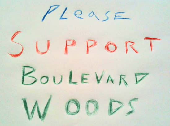 Support bw sign
